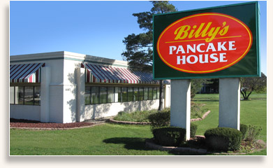 Billy's Pancake House Restaurant on Northwest Highway in Palatine